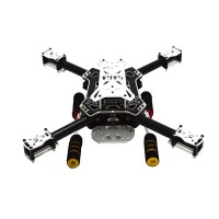 SAGA E350 Mini Carbon Fiber Quadcopter for FPV Photography w/ Camera Damper Board Kits