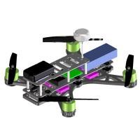 3D Print Customized PLA QAV 250 Quadcopter Frame Kits for FPV Photography