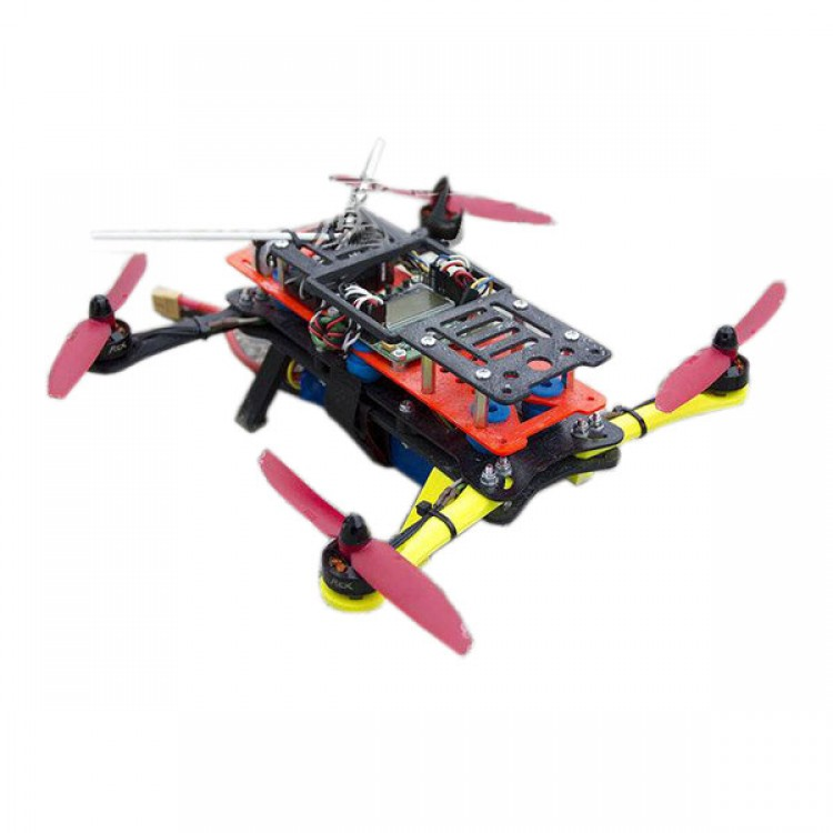 3D Print Customized PLA MHQ250 Folding Quadcopter Frame Kits for FPV ...
