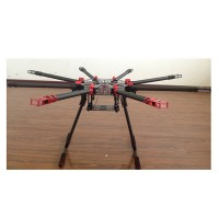 S1200 Carbon Fiber Foldable Quadcopter Frame Kits with Retractable Landing Skid for Multicopter FPV Photography
