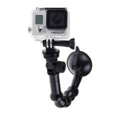 Omidirectional Snake Shape Sucker for Gopro Hero 4 3+ 3 Sports Camera Shooting