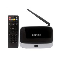 Android 4.4 TV Box Q7 CS918 Full HD 1080P RK3188T Quad Core Media Player 1GB/8GB XBMC Wifi Antenna with Remote Control