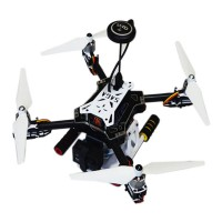 SAGA E450 Mini Folding Quadcopter Frame Kits & Flight Control & Driving Force & Remote Control for FPV Photography