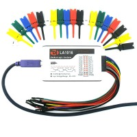 LA5016 USB Logic Analyzer 16CH 500M Sampling 5G Sample Depth PWM Output
