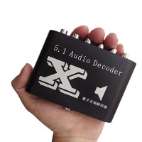 SX-512A 5.1 Audio Decodeder DTS DOLBY AC-3 Digital Optical Fiber Coaxial to 5.1 Channel Digital Audio Converter