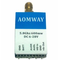 Aomway 5.8G 32CH MINI600mw Wireless Transmitter TX Telemetry for Multicopter FPV Photography