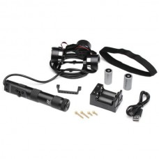 Z-One Z1-Rider Wearable 3-Axis Aluminum Alloy Brushless Gimbal Camera Mount for Photography