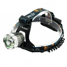 T6 Blue Light High Power Headlamp Two LED Lights for Hiking Fishing Outdoor Sports