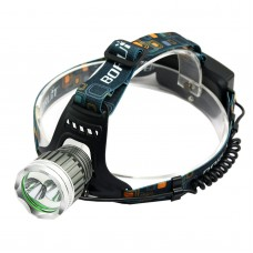T6+ Yellow Light High Power Headlamp for Hiking Camping Fishing Outdoor Sports