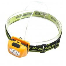 Yellow Sensing Headlight Zoom High Power Headlamp for Hiking Camping Fishing Outdoor Sports