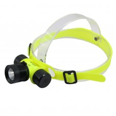 XPE Diving Underwater Light High Power Headlamp Waterproof Compression Antifreeze for Diving