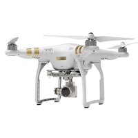 DJI Phantom 3 Professional Golden Remote Control Quadcopter w/ 4K Camera for FPV Photography