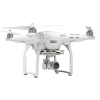 DJI Phantom 3 Advanced Silver Remote Control Quadcopter w/ HD Camera for FPV Photography