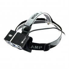 X3 8.4V Car Light Combo High Power Headlamp for Hiking Camping Fishing Outdoor Sports Black