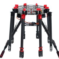 S1200 Carbon Fiber Folding Octacopter Frame Kits w/ DJI Landing Gear for FPV Photography