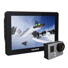 Lilliput MoPro7 Monitor with 2600mAh Built-in Battery HDMI & AV Input Specific Monitor for GoPro Hero 3+ 4 Series
