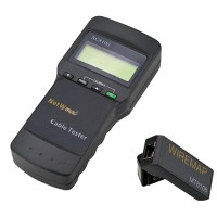 SC8108 RJ45 Network LAN Length Telephone Cable Location Tester Meter Measure