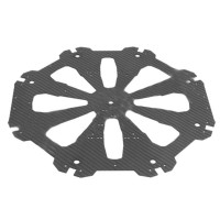 Tarot X8 Cover Plate Carbon Fiber Upper Center Board for X8 Octocopter TL8X019