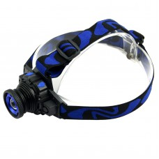 K16 Q5 Headlamp Strong Light Zoom Built in Lipo Battery For Camping Hunting Outdoor Sports