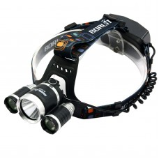 RJ5000 2400 Lumens T6+XPE Head Lamp White+Red High Power LED Headlamp For Camping Hunting