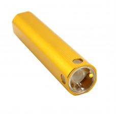 Power Bank Flashlight Torch CREE XPE Lightbulb 250 Lumin Golden for Hiking Camping Outdoor Sports