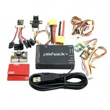Cuav Pixhack 2.4 Flight Control Pixhawk with Sensor & 8CH PPM & Led & TF Card