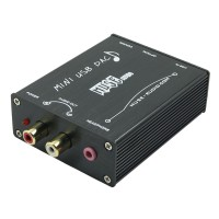 MUSE Z5 HIFI USB to S/PDIF Converter USB DAC PCM2704 Sound Card Optical Coaxial Black