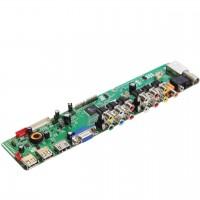 TSV59 LCD Universal Driver Board Replace HX-MST6M48/MST6M16JS-D TV Mainboard
