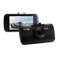 "Black/White G10W H264 3"" FHD 1080P 170° 6G Lens Car Dash Camera DVR Register"