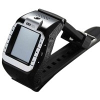 New N388 GSM Quadband Voice Dialing Watch Cell Phone Unlocked Touch Screen