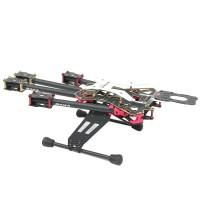 DAYA-550 Ugrade Version Alien Quad 3K Carbon Fiber Folding 4 Axis FPV Quadcopter Frame Kit Red