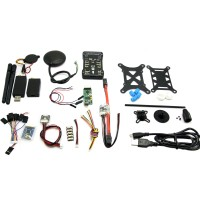 Pixhawk PX4 2.4.6 32bit Flight Controller & Led & NEO-M8N GPS & Power Module/PM/PPM/OSD/3DR 433Mhz/USB Data Cable
