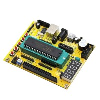 (ZK-1) 51 / AVR Microcontroller Minimum System Board / USB Download Programs / Development Board / Tutorial (C7A3) Module