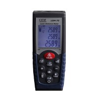 Brand CEM LDM-70 Digital Laser Distance Meter Volume Test 70m Measure Measuring