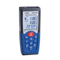 Brand CEM LDM-100 Digital Laser Distance Meter Volume Test 50m Measure Measuring