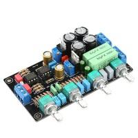 HIFI Preamplifier Tone Plate Board AD827 Operational Amplifier