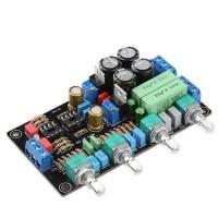 HIFI Preamplifier Tone Plate Board No Operational Amplifier