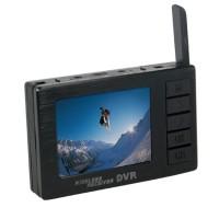 BOSCAM DV01S FPV 8 Channel Mini Video Camera 5.8G Wireless Receiver DVR Wireless Audio