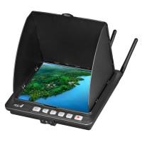 BOSCAM Galaxy D4 RD4 FPV Receiver Monitor LCD Display HD Screen 32CH Black Monitor