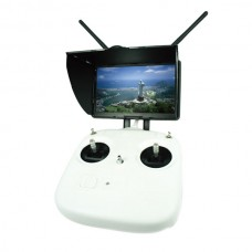 Boscam Galaxy D2 FPV 5.8G 7 Inch LCD Monitor Built-in 32CH 5.8Ghz Wireless Diversity Receiver and battery with Sun-hood