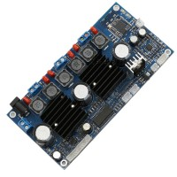 2.1 Digital Amplifier Board 3CH Digital D Class Amplifier Board Bass Fever Board HIFI w/ Remote Control
