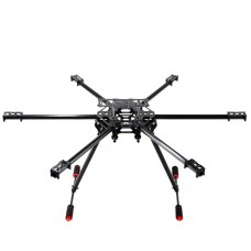 Six Axis Glass Fiber T680 KK MWC X Shape Hexacopter Frame Kits for Multicopter FPV Photography
