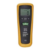 CEM CO-181 Carbon Monoxide CO Meter detects LED Light Audible Alarm Record Mode
