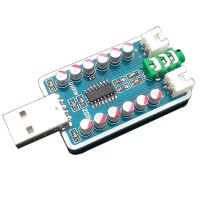 DC5V USB-powered Amplifier Board 6W + 6W High Power Class D Amplifier Board with Delay Boot