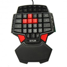 Mini USB Professional Gaming Keyboard LED Backlight Special For CS Warcraft 3D
