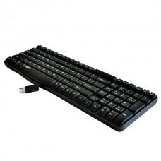 Brand Rapoo 2.4Ghz Wireless Keyboard E1050 Spill-resistant Media Control For W7
