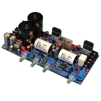 LM3886 HIFI Amplfier Assembled Board Stereo 2 Channel w/Tone Preamp & Protection Circuit