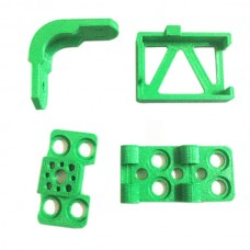 3D Print TBS Gopro Brushless Gimbal Frame Kits Light Weight Green