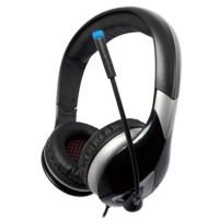 Headset Microphone/Headphone USB 7.1 for PC Game w/ Mic Somic Black G945B