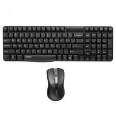 Rapoo X1800 2.4G Wireless Combo Keyboard &Mouse Energy Saving Spill-resistant